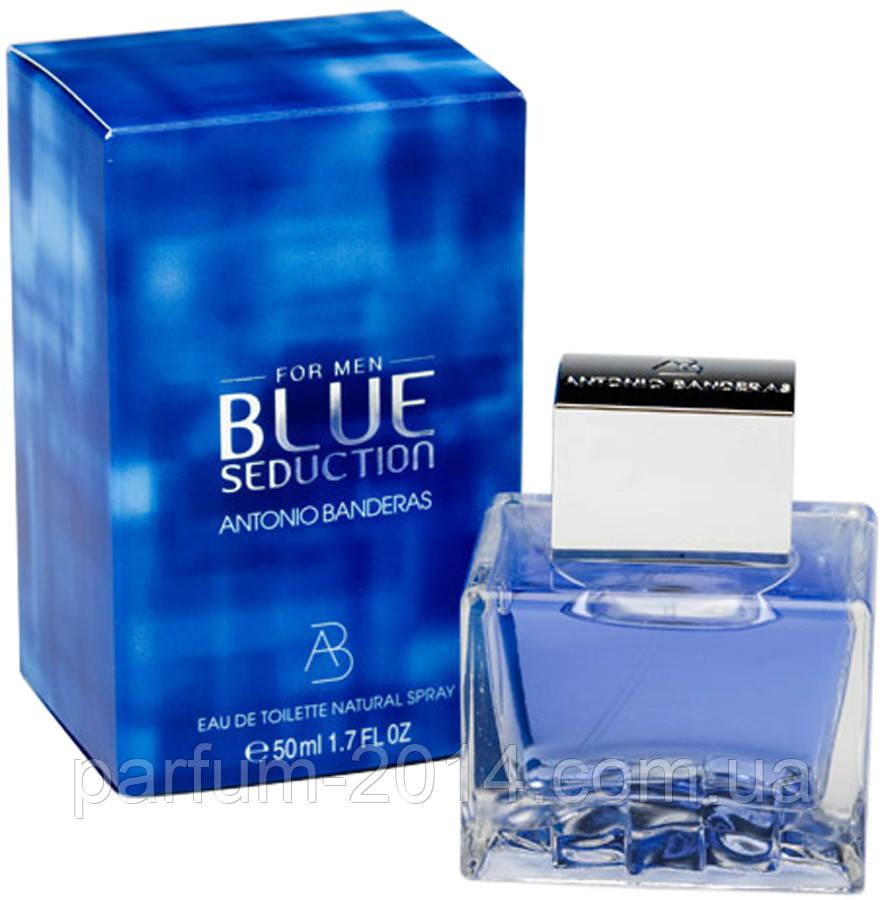 Мужская туалетная вода Antonio Banderas Blue Seduction  (реплика)