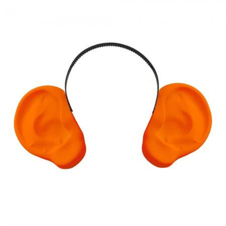 Аксессуар на ободке Уши локаторы оранжевые