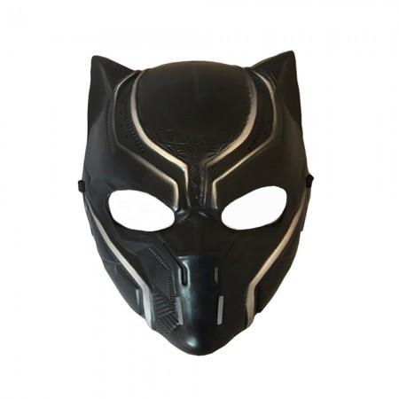 Маска пластик Черная пантера