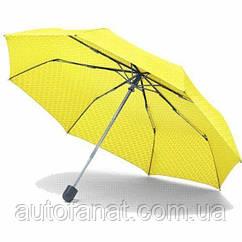 Оригинальный складной зонт MINI Umbrella Foldable Signet, Lemon (80232445721)