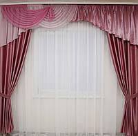 Красивые шторы с ламбрекеном