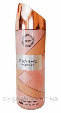 Парфюмированный дезодорант женский Le Parfait 200ml
