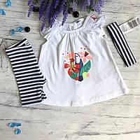 Летний костюм на девочку Breeze 99.  Размер 62, 68, 74, 80, 86, 92,98 см, фото 1