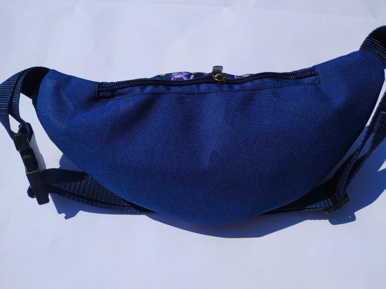 Поясная сумка Бананка сумка на пояс тканевая с ярким принтом женская м 3