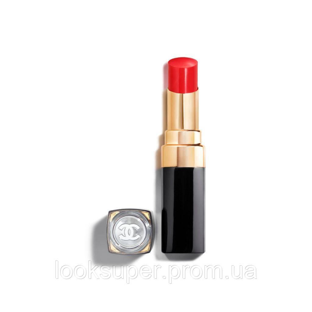 Увлажняющая помада-блеск для губ CHANEL ROUGE COCO FLASH  66 - PULSE