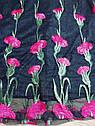 Нарядное черное платье на девочку с вышитыми цветами Forever21 (США) (Размер 9-10Т), фото 3