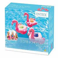 Надувные подстаканники Фламинго INTEX 57500NP, (уп. 3 шт)