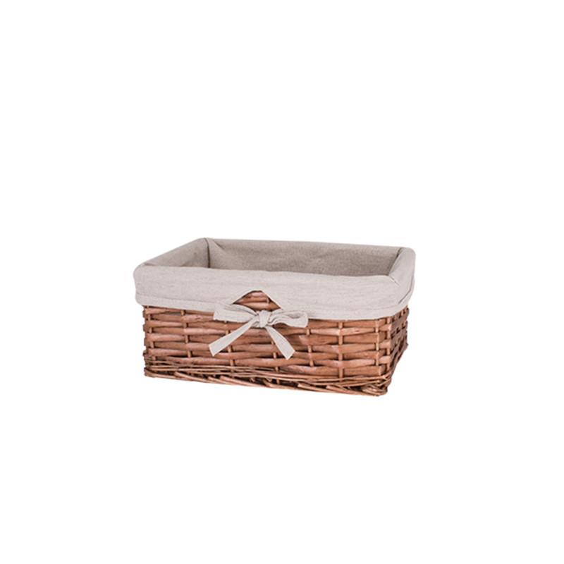 Кошик для білизни плетені коричнева AWD02241588