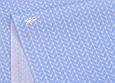 Сатин (хлопковая ткань) голубая косичка, фото 3