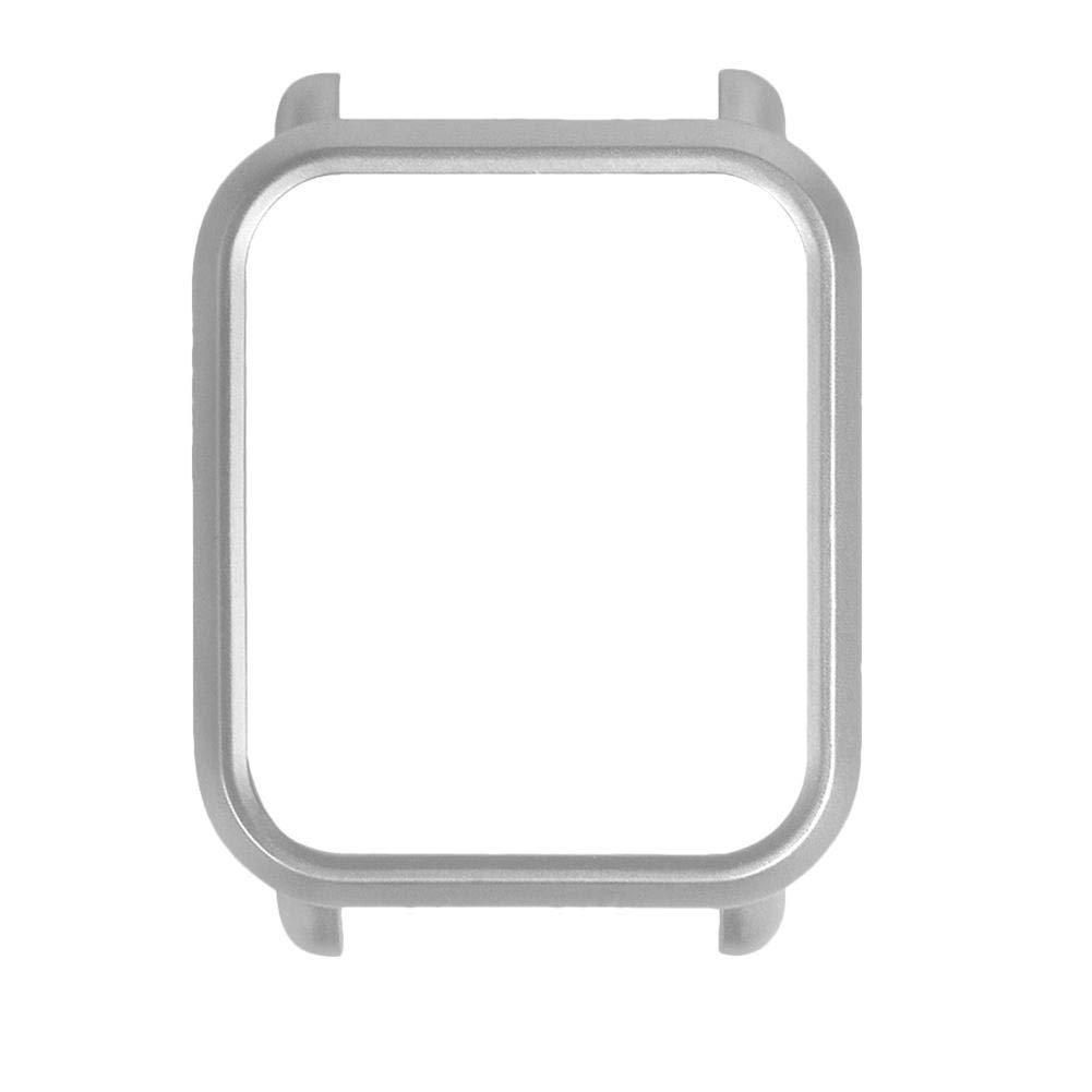 Накладка бампер Tamister на часы Xiaomi Amazfit Bip Cеребристая (1010518)