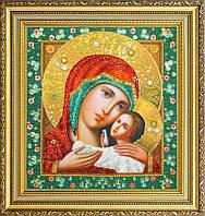 Набор для вышивки бисером Икона Божией Матери Касперовская