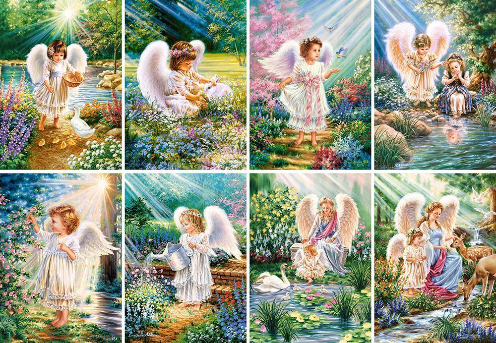 Пазлы Ангелочки, 120 эл., 8 шт. в упаковке
