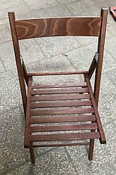 Стул раскладной деревянный ТИМ ТОНИРОВАННЫЙ из дерева бук