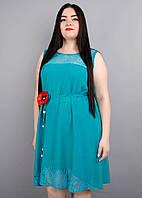 Платье Маки бирюза