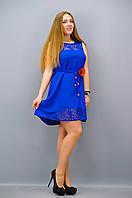 Платье Маки электрик