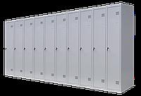 Шкаф для одежды разборной на десять человек 10/400 (1800х4000х500)