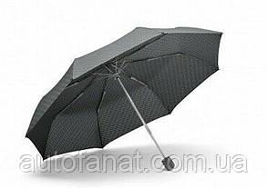Оригинальный складной зонт MINI Umbrella Foldable Signet, Grey (80232445719)