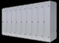 Шкаф для одежды разборной на девять человек (1800х3600х500)