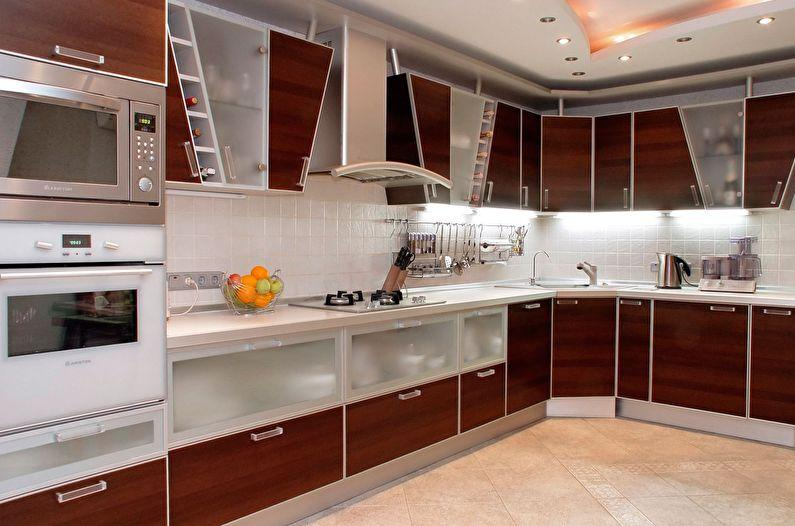 Кухня угловая в стиле Модерн