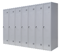 Шкаф для одежды разборной на семь человек (1800х2800х500)
