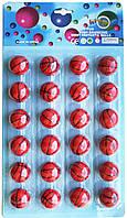 """Мячик попрыгунчик """"Баскетбольный мяч""""  (24шт/лист)"""