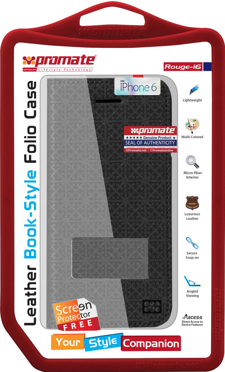 Чехол для iPhone Promate Rouge-i6 Black