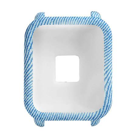 Силиконовый чехол BeWatch для Xiaomi Amazfit BIP Голубой (1010897), фото 2
