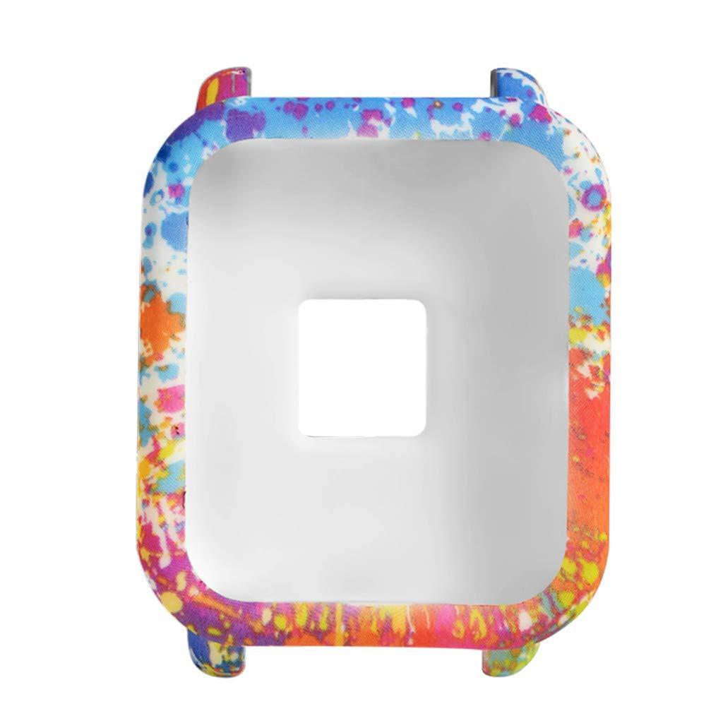 Силиконовый чехол BeWatch для Xiaomi Amazfit BIP Spalsh Разноцветный (1010888)
