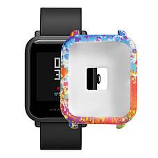 Силиконовый чехол BeWatch для Xiaomi Amazfit BIP Spalsh Разноцветный (1010888), фото 3