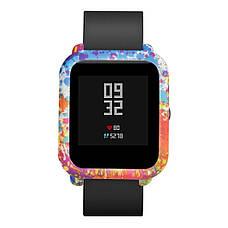 Силиконовый чехол BeWatch для Xiaomi Amazfit BIP Spalsh Разноцветный (1010888), фото 2