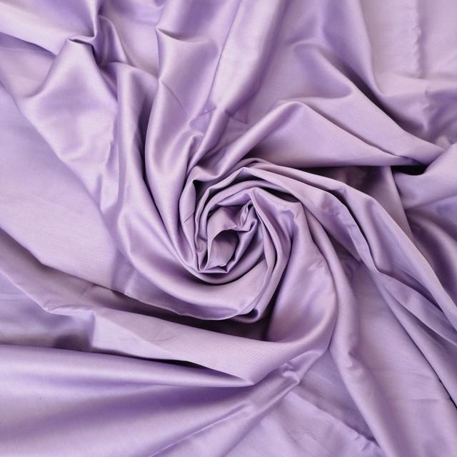 тканина сатин лаванда