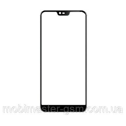 Корпусное стекло Nokia 7.1 черное, фото 2
