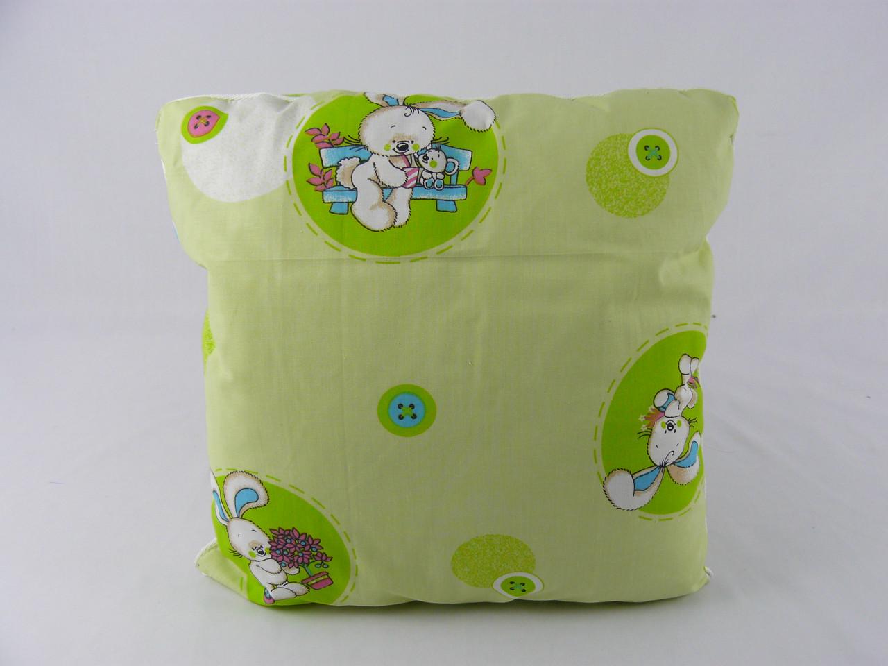 Подушка детская, 40х40, в коляску и кроватку