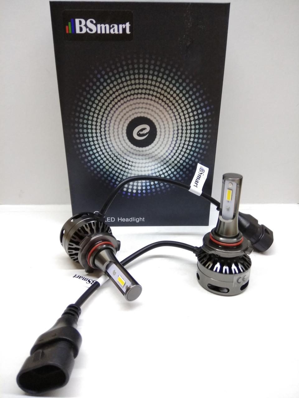 Aвтолампы LED E9, HB3(9005), 6000K, 10000Lm, 80W, CANBUS