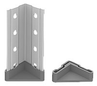 200х100х50 6 полок 150 кг на полку Стеллаж для архива склада металлический крашенный Серый цвет, фото 8