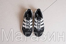 """Мужские кроссовки adidas LXCON Future """"Black / White"""" Адидас Лексикон черные с белым, фото 3"""