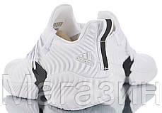"Мужские кроссовки adidas Alphabounce Instinct ""White"" (Aдидас) белые, фото 3"