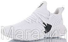 "Мужские кроссовки adidas Alphabounce Instinct ""White"" (Aдидас) белые, фото 2"