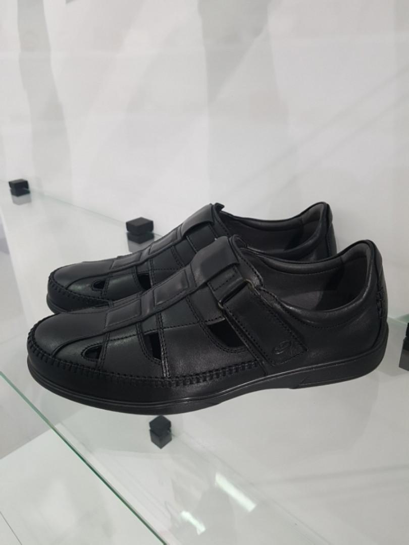 Туфлі чоловічі GoErgo шкіряні чорні