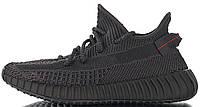 Женские кроссовки adidas Yeezy Boost 350 V2 Triple Black Адидас Изи Буст 350 черные FU9006