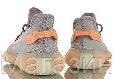 """Женские кроссовки adidas Yeezy Boost 350 V2 """"True Form"""" EG7492 Адидас Изи Буст 350 серые, фото 3"""