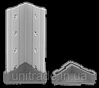 100х70х40 4 полки 100 кг на полку Стеллаж для архива склада металлический крашенный Серый цвет, фото 6