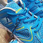 Кроссовки Bona сетка голубые размер 37, фото 5