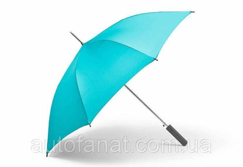 Оригинальный зонт-трость MINI Umbrella Walking Stick Signet, Aqua (80232445723)