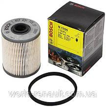 Топливный фильтр на Рено Лагуна II 1.9dci F9Q, 2.2 G9T h=92мм / BOSCH 1457431705