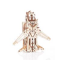 Механический 3D пазл Трансформер Робот-самолёт, фото 1