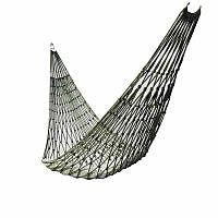 Гамак подвесной сетка 270*80см до 100кг на кольцах ( гамак для дачи )