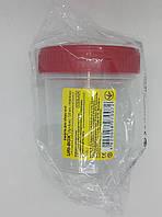 Емкость для забора мочи 120 мл стерильная/ URI-BOX/ Италия