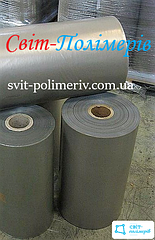 Полотно полиэтиленовое вторичное 2с СЕРОЕ - 400 мм, 50 мкм, 1350 м.п.