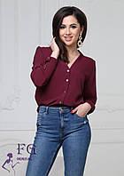 Блузка - рубашка на пуговицах 002В/05, фото 1